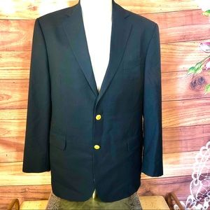 Brooks Brothers 1818 Madison Wool Suit Jacket 41R
